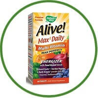 Nature's Way Alive Whole Food Energizer Multi-Vitamin